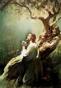 Oracion de Jesús en Getsemani