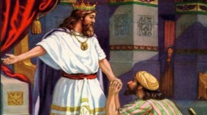 mefiboset el rey te mando a llamar