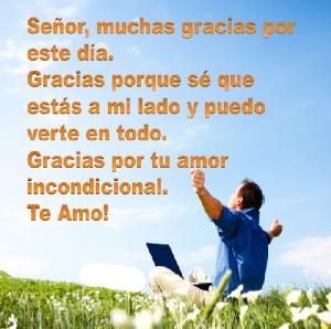 Gracias Señor por tu amor